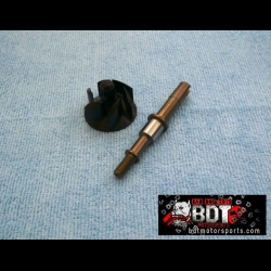 HONDA TRX ATC 250R BDT ENGINE WATER PUMP SHAFT & BILLET IMPELLER