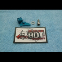 HONDA TRX250R ATC250R BDT MOTORSPORTS BILLET CLUTCH CABLE CLAMP BLUE