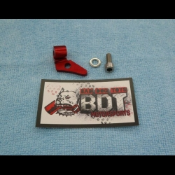 HONDA TRX250R ATC250R BDT MOTORSPORTS BILLET CLUTCH CABLE CLAMP RED