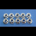 HONDA TRX ATC 250R CYLINDER BASE 10MM NUT FLANGE 10PK NEW