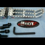 HONDA 1985-86 ATC250R BDT MOTORPSORTS BILLET FOOT PEG SET CLEAT DESIGN NEW