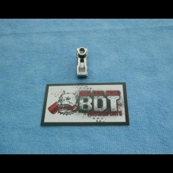 BDT MOTORSPORTS HONDA TRX ATC 250R SWINGARM BILLET REAR BRAKE LINE CLAMP