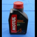 HONDA TRX ATC 250R MOTUL 800 2T FACTORY LINE OFF ROAD RACING MOTOR OIL 1L 100% SYNTHETIC