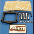 "HONDA TRX ATC 250R BDT 1/2"" BILLET REED SPACER PLATE KIT BLACK"
