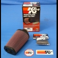 HONDA TRX ATC 250R K&N AIR FILTER REPLACEMENT W/ OUTERWEAR FOR BDT ELIMINATOR KIT