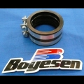 HONDA TRX ATC 250R BOYESEN RAD VALVE REPLACEMENT BOOT & CLAMPS FOR KEIHIN PWK CARBURETORS