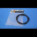 "HONDA TRX ATC 250R 1/4""X3FT FUEL LINE BLACK"
