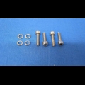 HONDA TRX ATC 250R CARBURETOR SCREWS AND WASHERS