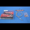 HONDA TRX250R STREAMLINE STEEL BRAIDED REAR BRAKE LINE KIT