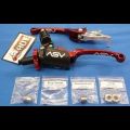 ASV F3 SERIES CLUTCH PERCH FRONT BRAKE LEVER PRO PACK RED