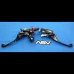 ASV F4 SERIES CLUTCH PERCH FRONT BRAKE LEVER BLACK NEW HOLIDAY PRO PACK