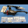 ASV F3 SERIES CLUTCH PERCH FRONT BRAKE LEVER PRO PACK BLACK
