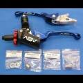 ASV F3 SERIES CLUTCH PERCH FRONT BRAKE LEVER PRO PACK BLUE