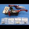 ASV F3 SERIES SHORTY CLUTCH PERCH FRONT BRAKE LEVER PRO PACK RED