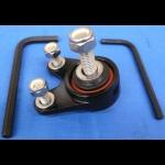 HONDA TRX ATC 250R BDT BILLET EXHAUST HANGER MOUNTS KIT BLACK