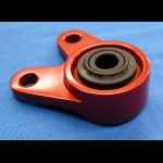 HONDA TRX ATC 250R BDT BILLET EXHAUST HANGER MOUNT #2 RED