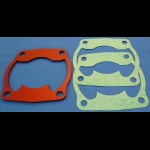 HONDA TRX250R ATC250R BDT CYLINDER BASE SPACER PLATE KIT 310-363 RED