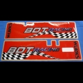 HONDA 1985-86 ATC250R BDT RACING FRONT FORKS DECAL SET