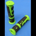 HONDA TRX ATC 250R PROGRIP GREEN/BLACK THUMB THROTTLE GRIPS