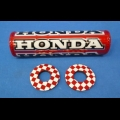 "HONDA TRX ATC 250R FLITE MX 7.5"" MINI CROSSBAR PAD AND DONUTS"