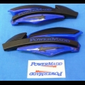 HONDA TRX ATC 250R POWERMADD ATV STAR SERIES HANDGUARDS BLUE