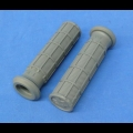 HONDA TRX ATC 250R PRO TAPER GREY GRIPS THUMB THROTTLE