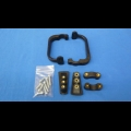 HONDA TRX ATC 250R POWERMADD ATV POWER X HANDGUARD MOUNT KIT