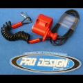 HONDA TRX ATC 250R PRO DESIGN KILL SWITCH RED