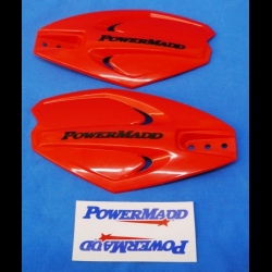 HONDA TRX ATC 250R POWERMADD ATV POWER X HANDGUARDS RED