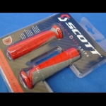 HONDA TRX ATC 250R SCOTT DEUCE ATV GRIPS RED THUMB THROTTLE