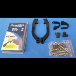 HONDA TRX ATC 250R POWERMADD ATV STAR SERIES HANDGUARD MOUNT KIT