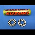 "SUZUKI FLITE MX 10"" CROSSBAR PAD AND DONUTS"