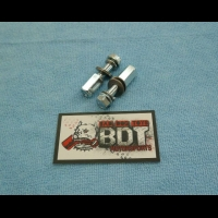 BDT MOTORSPORTS HONDA 1985-87 ATC TRX 250R REAR CHAIN GUIDE STEEL MOUNTS