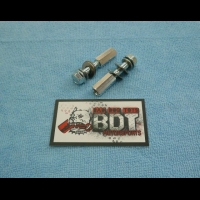 BDT MOTORSPORTS HONDA 1988-89 TRX250R REAR CHAIN GUIDE ALUMINUM MOUNTS
